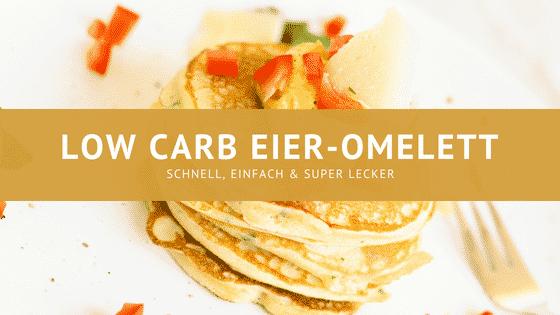 Low carb Eieromlett mit Paprika und Zwiebeln