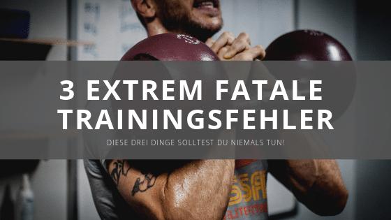 Die 3 größten Trainingsfehler, die den Muskelaufbau behindern