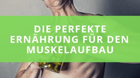 Schnell Muskeln aufbauen- die richtige Ernährung