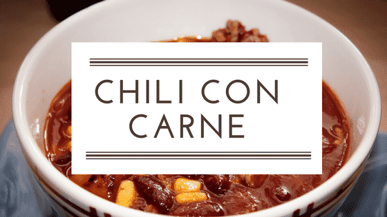Low carb Rezept: Chilli con Carne
