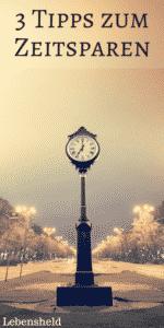 Tipps zum Zeitsparen