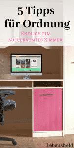 5 tipps f r ordnung wie dein zimmer immer ordentlich bleibt. Black Bedroom Furniture Sets. Home Design Ideas