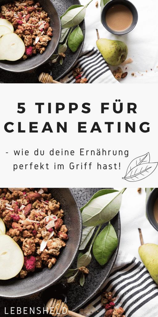 Tipps für clean eating