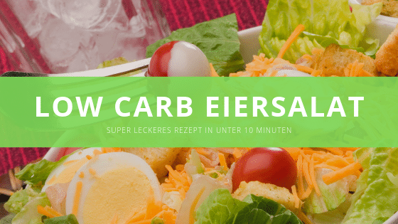 Low carb Eiersalat – In unter 10 Minuten
