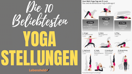 Die 10 beliebtesten Yoga-Posen
