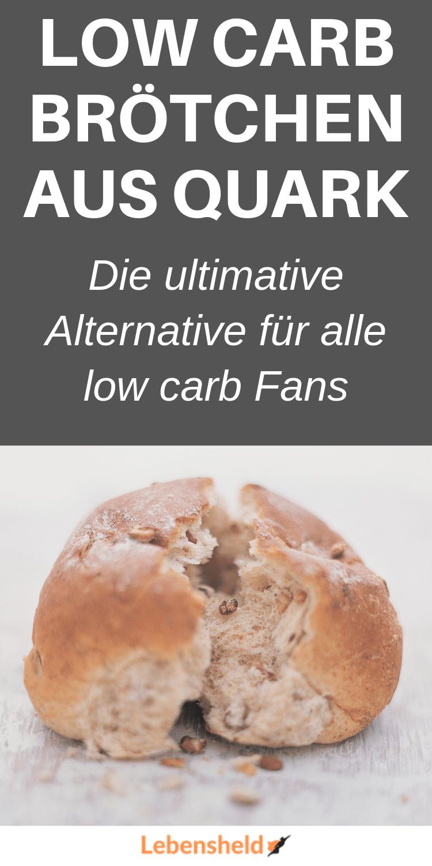 low carb Quarkbrötchen
