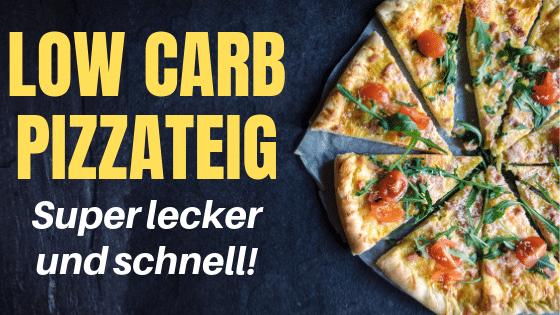 Low Carb Pizzateig – Super einfach und schnell!