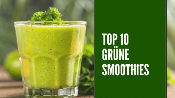 10 grüne Smoothies zum Abnehmen