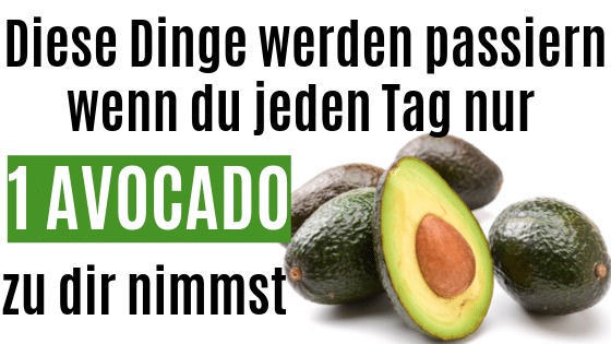 Iss jeden Tag eine Avocado und das passiert mit deinem Körper