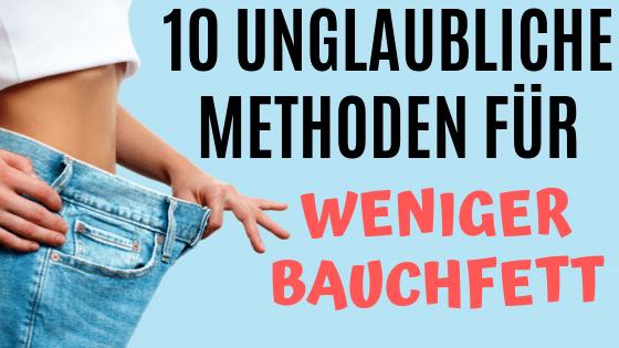 10 Methoden zum schneller Abnehmen
