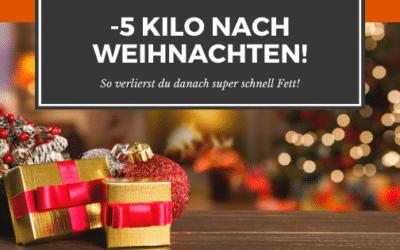 Schnell Abnehmen nach Weihnachten [-5 Kilo]