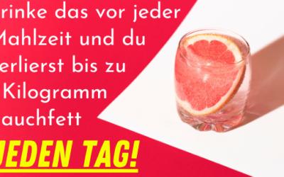 Trinke das vor jeder Mahlzeit und verliere bis zu 1 Kilo jeden Tag!