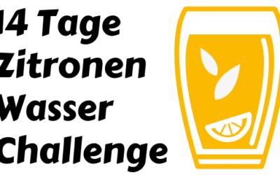 14 Tage Zitronen Wasser Challenge zum Abnehmen