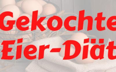 Gekochte Eier Diät: Verliere 10 Kilo in 14 Tagen