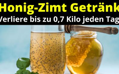 Honig-Zimt Getränk