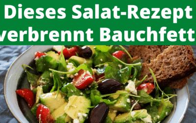 Dieser Salat verbrennt Bauchfett!